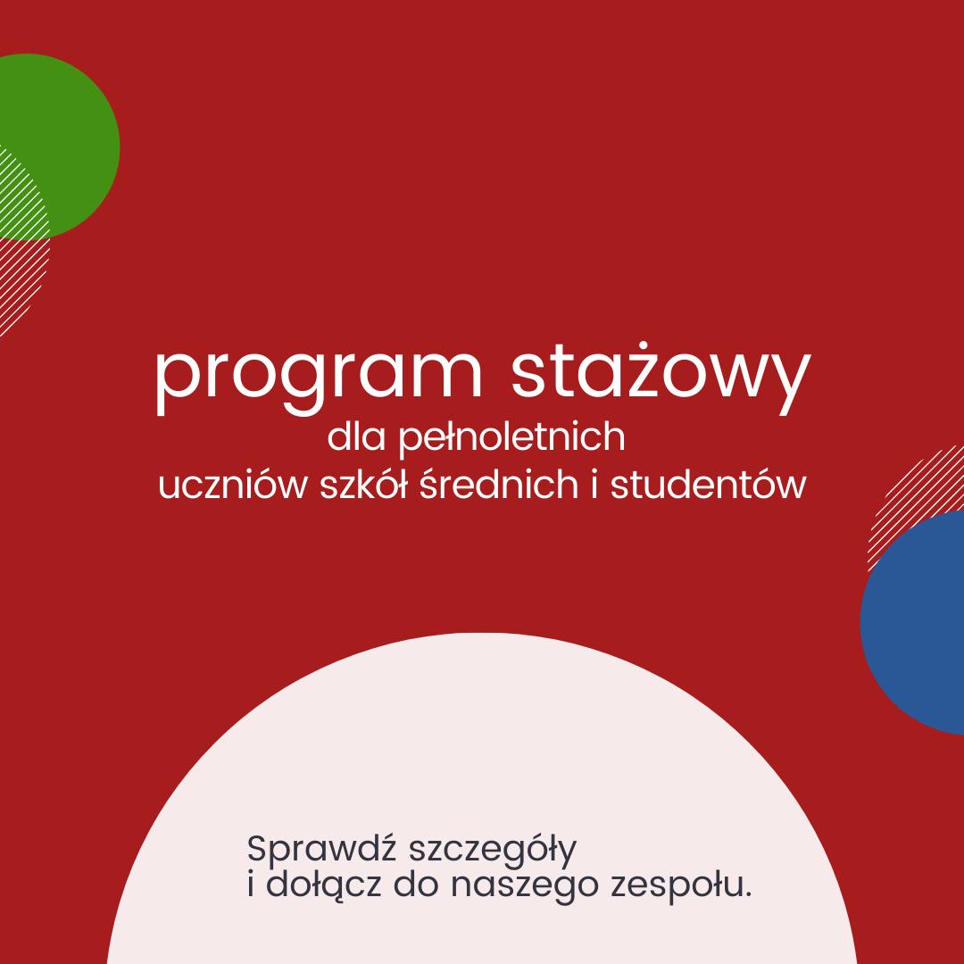 nowy program stażowy